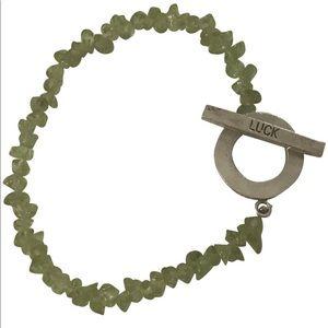 Jewelry - Semi-Precious Peridot Bracelet